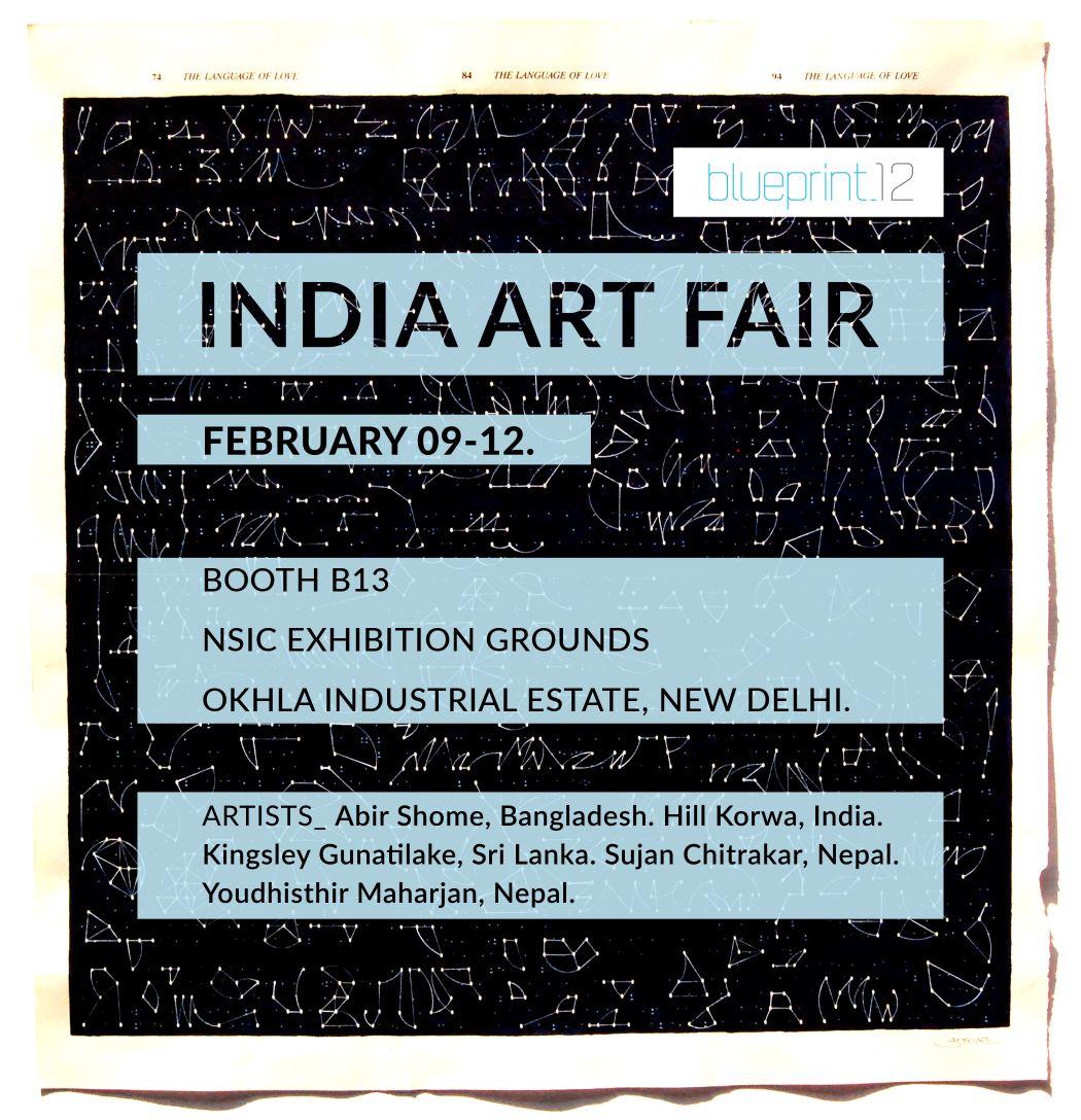 India Art Fair, South Asian Artist, Blueprint12