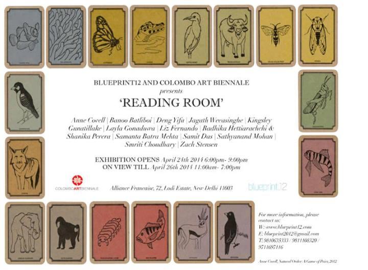 Reading Room, altered book art show, Blueprint12