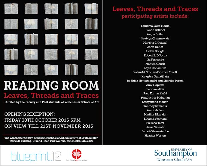 Reading Room, altered book art, Blueprint12, UK
